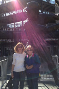 ALT:Ann Davidson and Liz Wright, April 14, 2016, PNC Park. | Your #Pixburgh Photo Album | #Pixburgh: A Photographic Experience