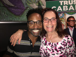 ALT:Arlene Murphy and Billy Porter, Oct. 2016 at the CLO Cabaret. | Your #Pixburgh Photo Album | #Pixburgh: A Photographic Experience
