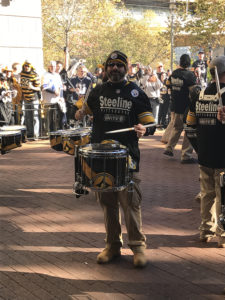 ALT:Steeline member Steve Lugarich, November 13, 2016 at the Tilted Kilt on the North Shore for the for the Steelers v. Cowboys Tailgate.| Your #Pixburgh Photo Album | #Pixburgh: A Photographic Experience