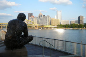ALT:Mister Rogers statue, North Shore, June 8, 2013. | Your #Pixburgh Photo Album | #Pixburgh: A Photographic Experience