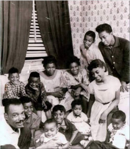 ALT:Sylvester Harris and his family, Hill District, 1960. | Your #Pixburgh Photo Album | #Pixburgh: A Photographic Experience