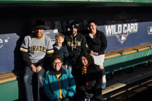 ALT:Three generations of the Reck family, Jan. 9, 2016, PNC Park. | Your #Pixburgh Photo Album | #Pixburgh: A Photographic Experience