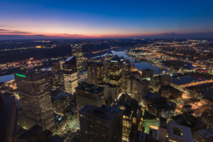ALT:The City of Pittsburgh, December 7, 2015, from the US Steel Tower. | Your #Pixburgh Photo Album | #Pixburgh: A Photographic Experience