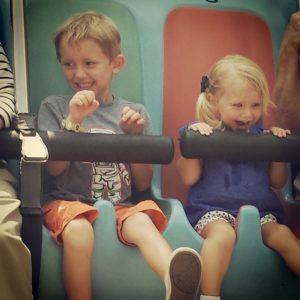 ALT:Caleb and Adalyn Horner, Kennywood, July 2014. | Your #Pixburgh Photo Album | #Pixburgh: A Photographic Experience