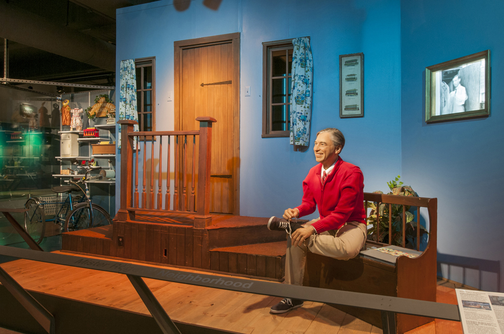 "Visit the original ""Mister Rogers' Neighborhood"" set at the History Center."