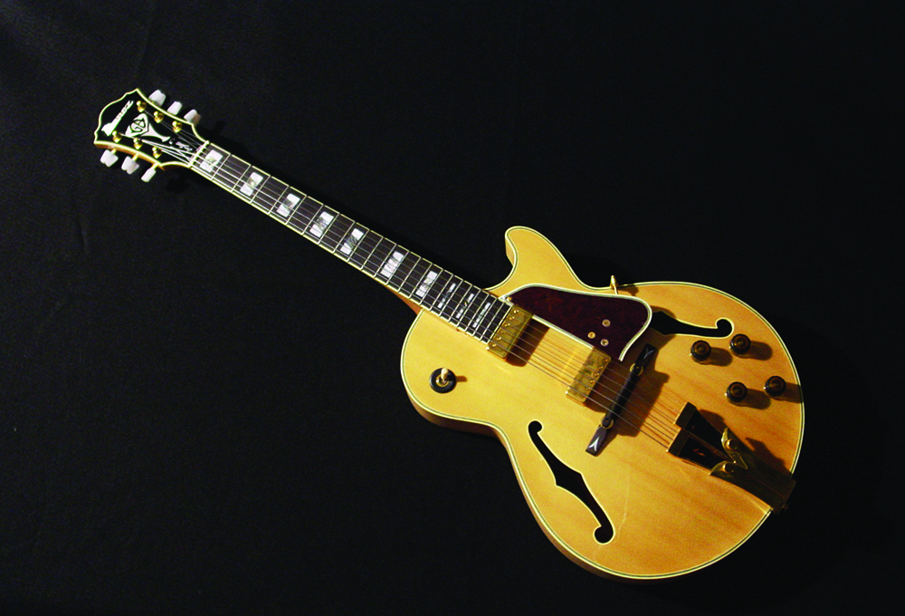 George Benson guitar, 1980s. Gift of George Benson.