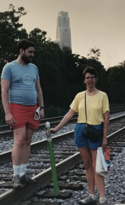 ALT:Carol Skinger and John P. Horn, Schenley Park, Pittsburgh, 1986.| Your #Pixburgh Photo Album | #Pixburgh: A Photographic Experience