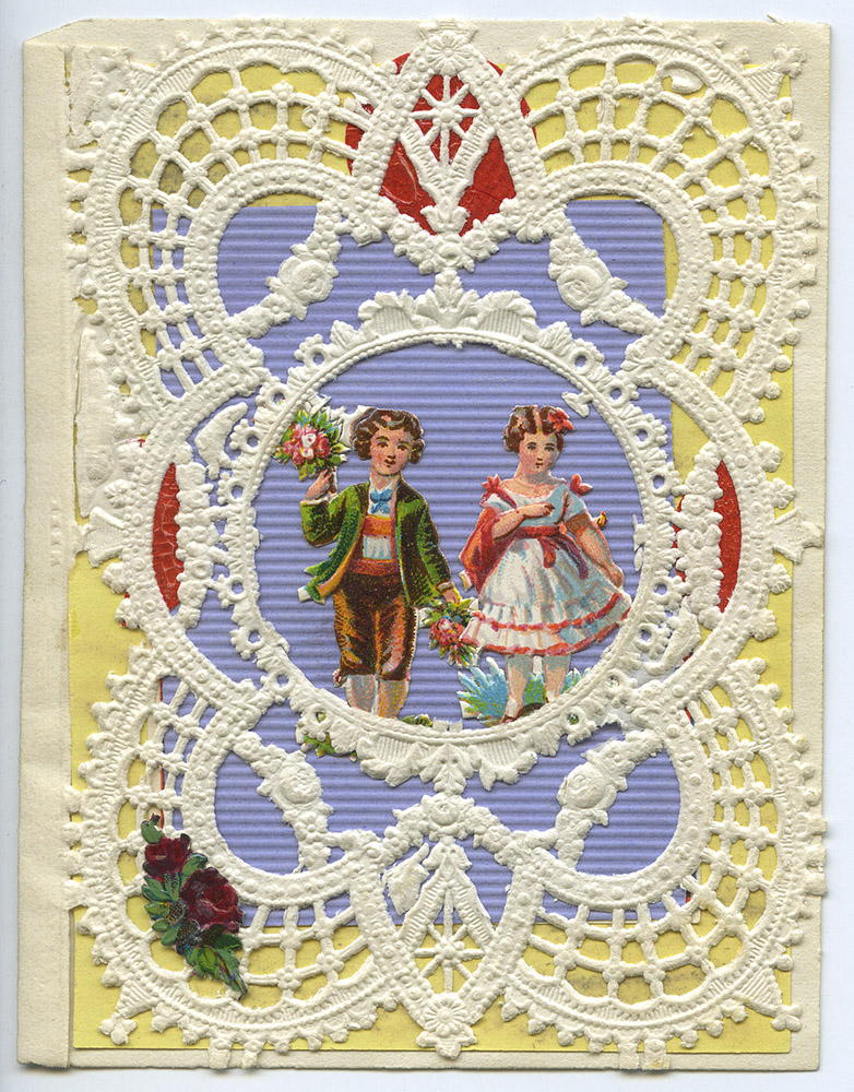 Vintage Valentine, undated. Spencer Family Papers, Detre Library & Archives at the History Center.