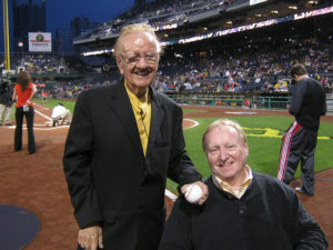ALT:Porky Chedwick & Bill Zimpleman, April 23, 2011 at PNC Park. | Your #Pixburgh Photo Album | #Pixburgh: A Photographic Experience
