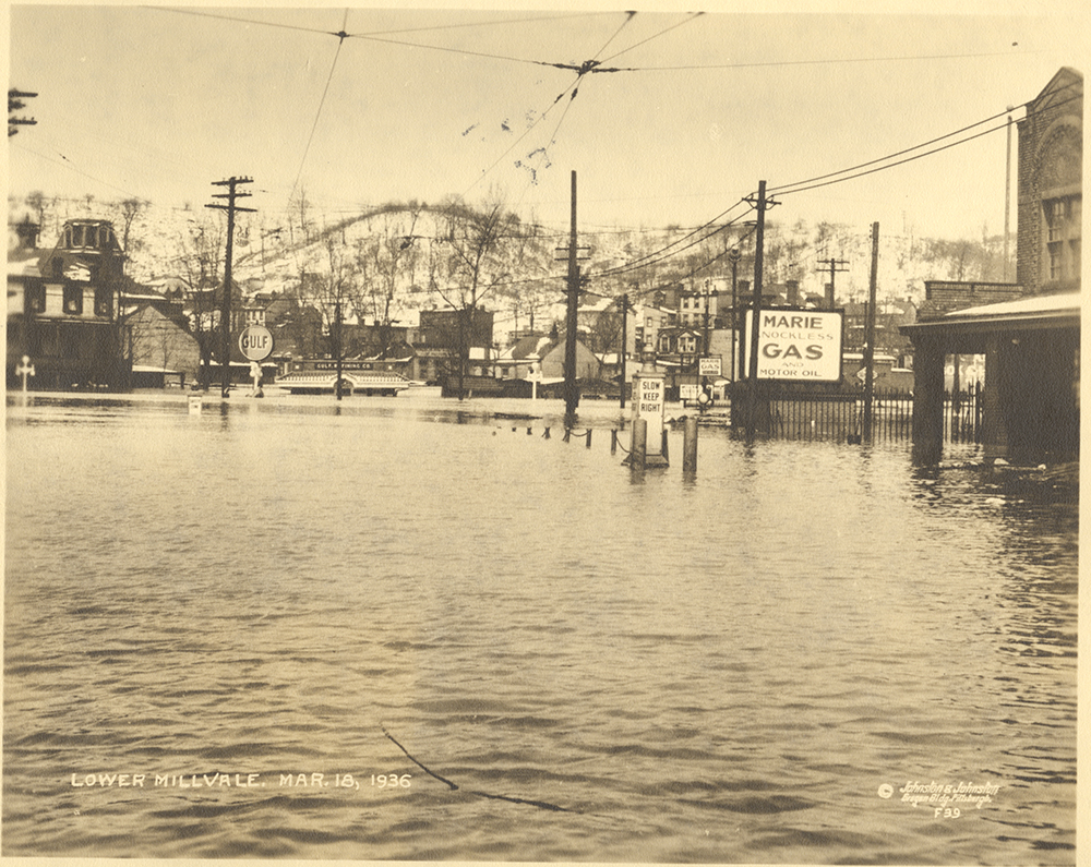 Lower Millvale, March 18, 1936. | St. Patrick's Day Flood 1936 | Heinz History Center