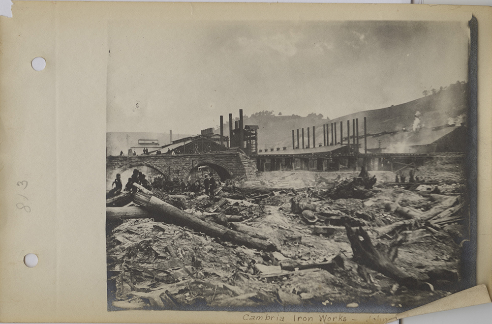 """johnstown flood essay Essay about johnstown flood - mccullough presents a meticulously researched, detailed account of the johnstown flood of may 31st 1889, which provides arguments for why the disaster was both """"the work of man"""" and """"a visitation of providence."""
