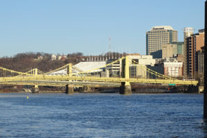 ALT:North Shore facing the bridges and convention center, March 4, 2017. | Your #Pixburgh Photo Album | #Pixburgh: A Photographic Experience