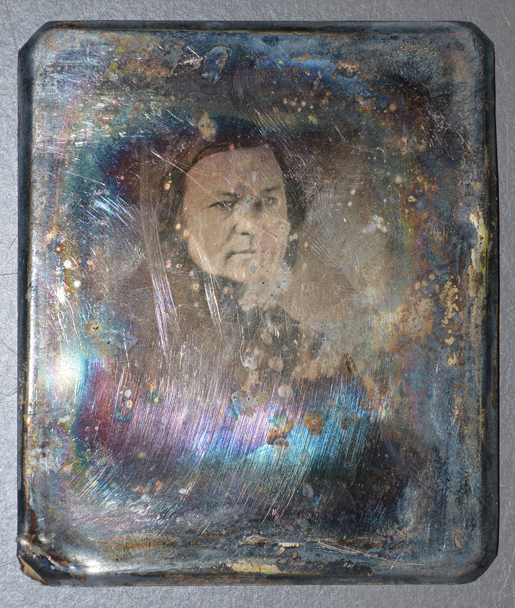 Rodman daguerreotype, McClelland Family Papers and Photographs, Detre Library & Archives at the History Center