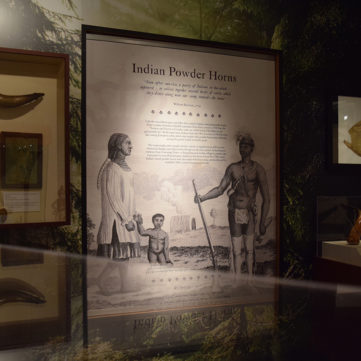 Indian Horns | From Maps to Mermaids: Carved Powder Horns in Early America | Fort Pitt Museum