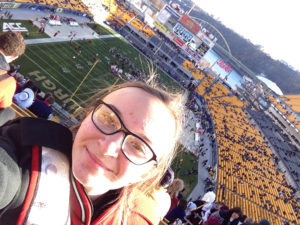 ALT:Kayleigh DeWalt, Heinz Field, November 21, 2015. | Your #Pixburgh Photo Album | #Pixburgh: A Photographic Experience