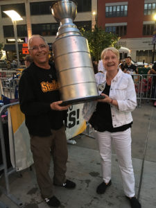 ALT:Larry Lesko and Teri Cleeland, PPG Paints Arena, June 8, 2017. | Your #Pixburgh Photo Album | #Pixburgh: A Photographic Experience