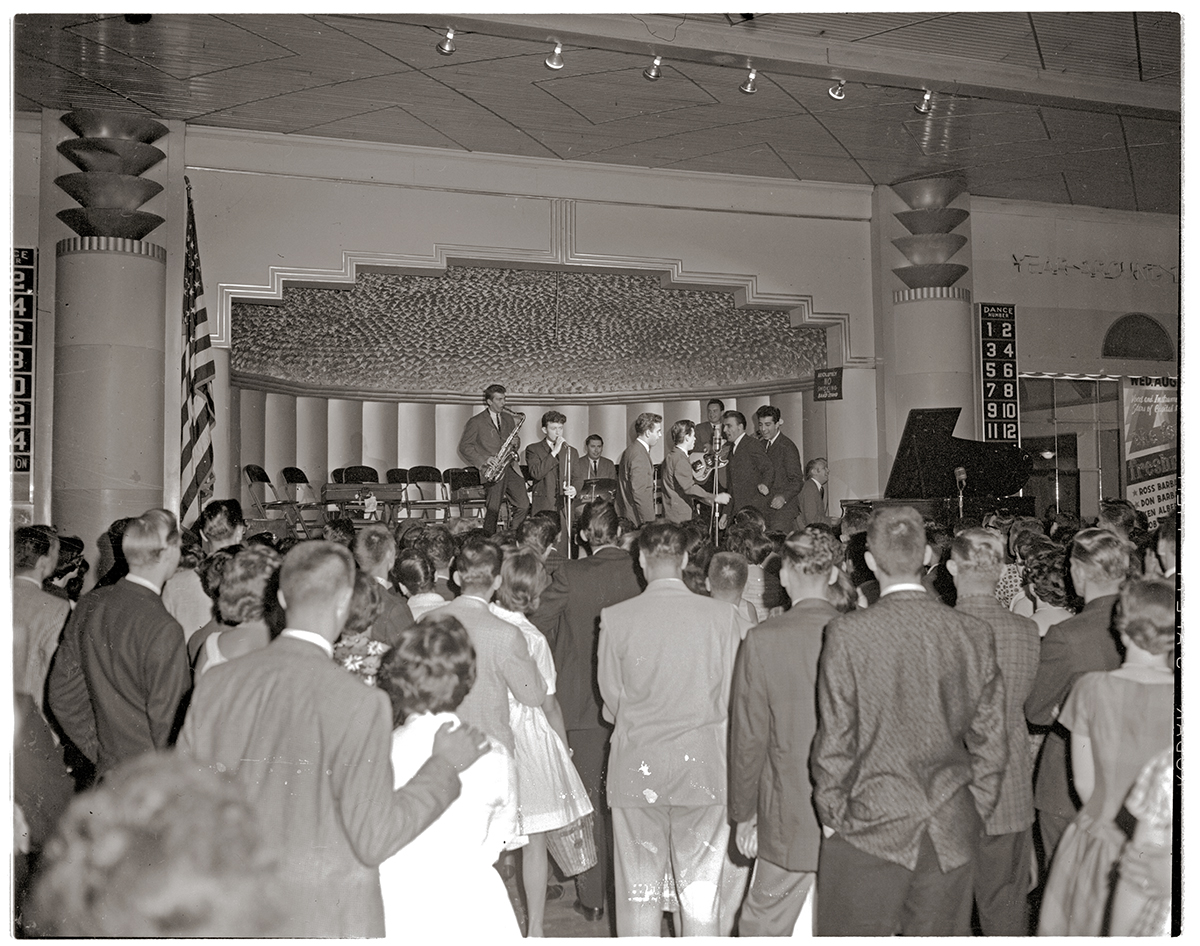 Crowds enjoy a concert at West View's popular Danceland, 1961. | Heinz History Center