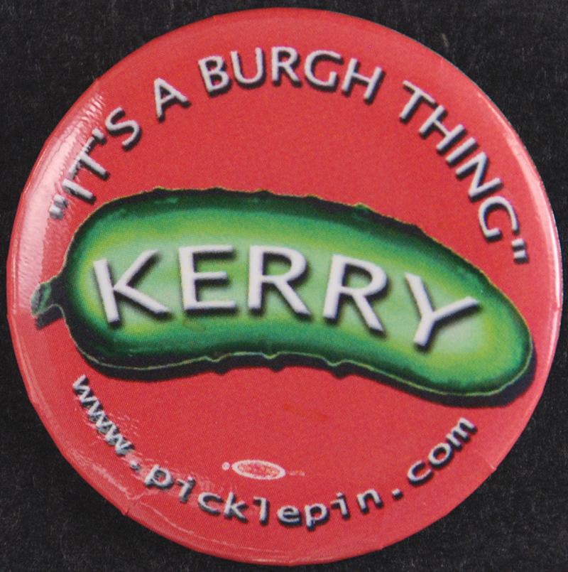John Kerry Political Button | Heinz History Center
