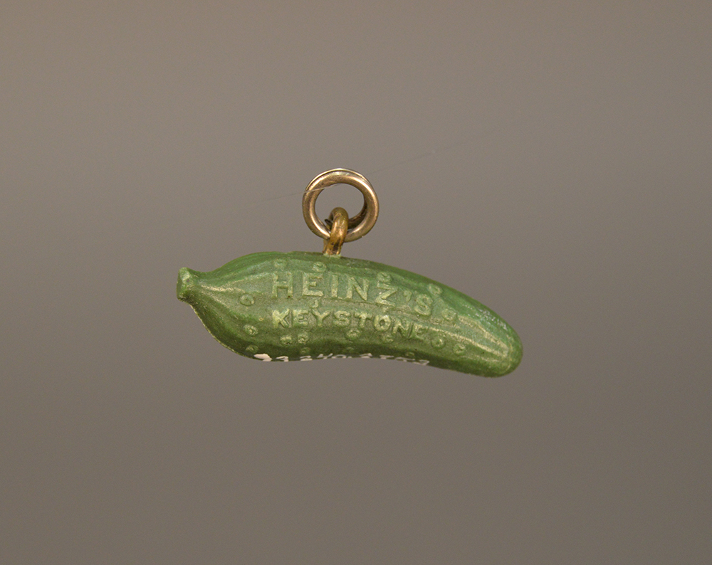 An Original Pickle Pin | Heinz History Center