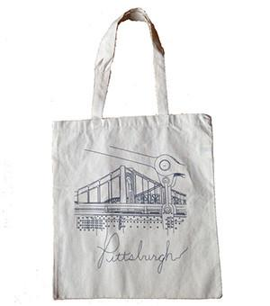 Pittsburgh bridge tote bag | Shop | Heinz History Center | Pittsburgh gifts