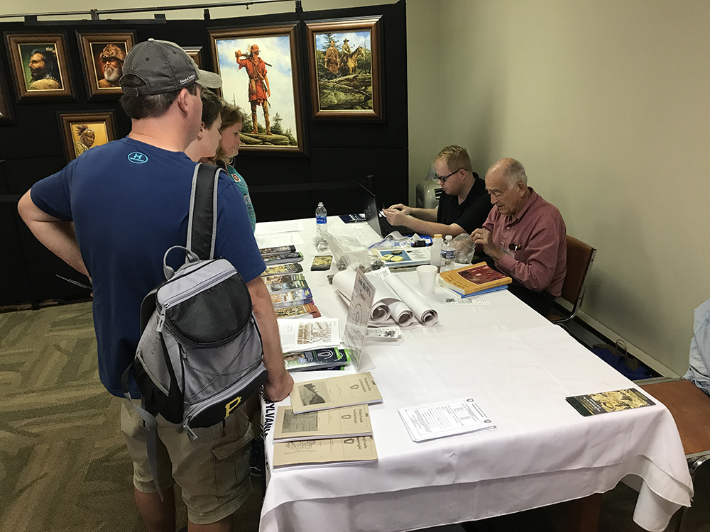 Archaeology Day at Meadowcroft, 2017