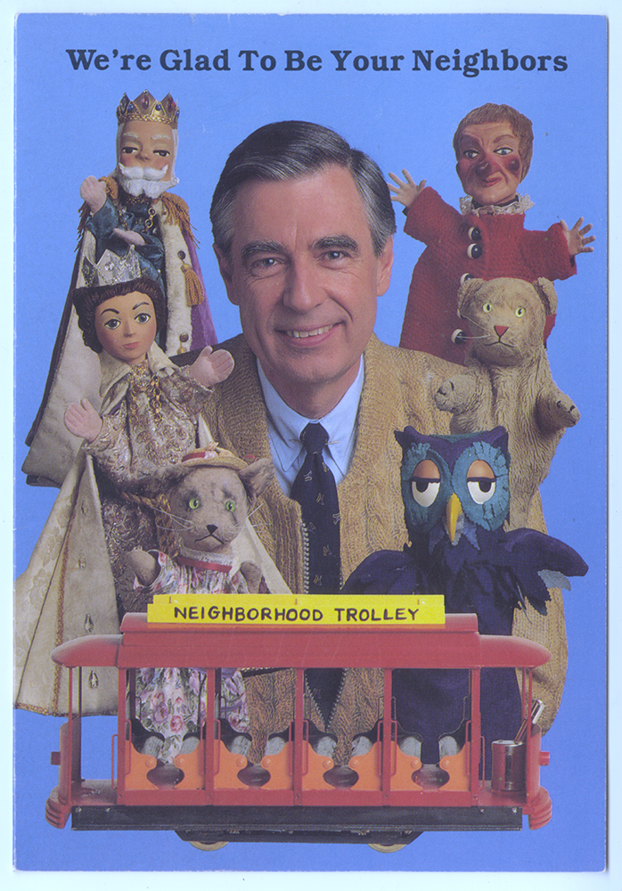 Puppets, central characters on the show, also held a special place in the childhood of Fred Rogers.