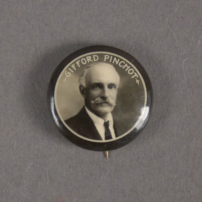 Button from Pinchot's campaign for the Governor's office in 1922.