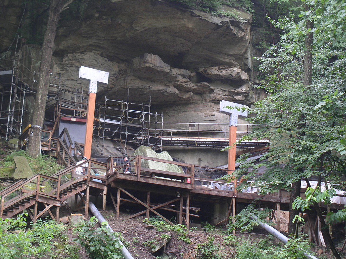 In 2007, a new enclosure was built to make the archaeological site more accessible to visitors so they may fully understand its importance to the study of cultural activity in the upper Ohio valley and the peopling of North America.