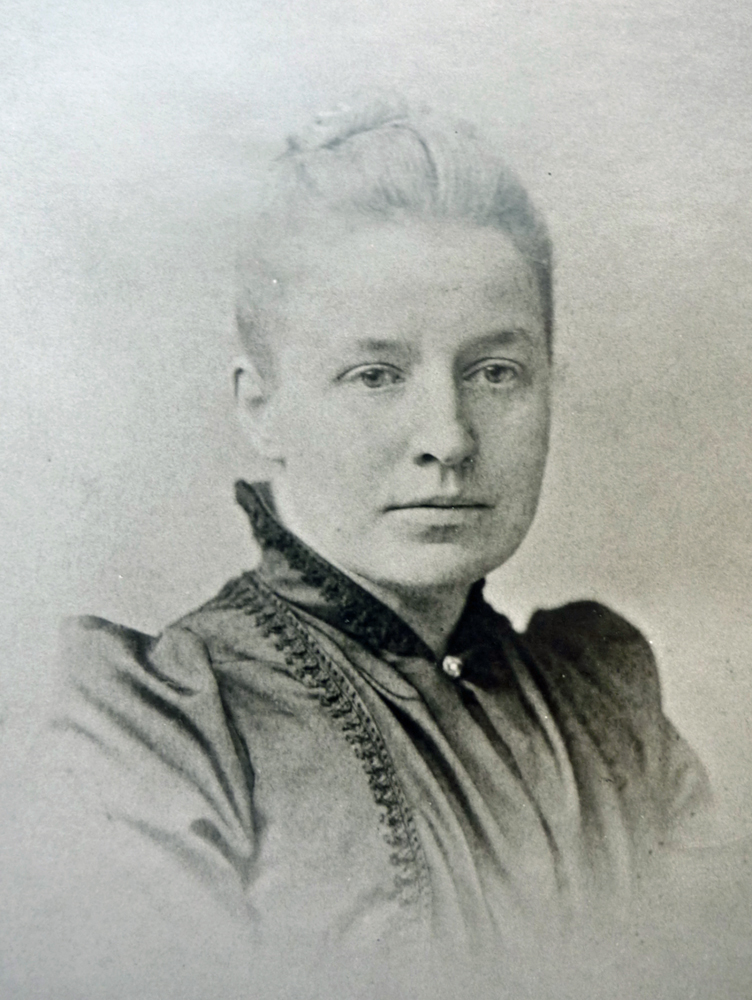 Alice Bennett, M.D., Ph.D., c. 1876. Bennett estate, Mary-Alice Raymond, Wrentham, Mass., 2014.