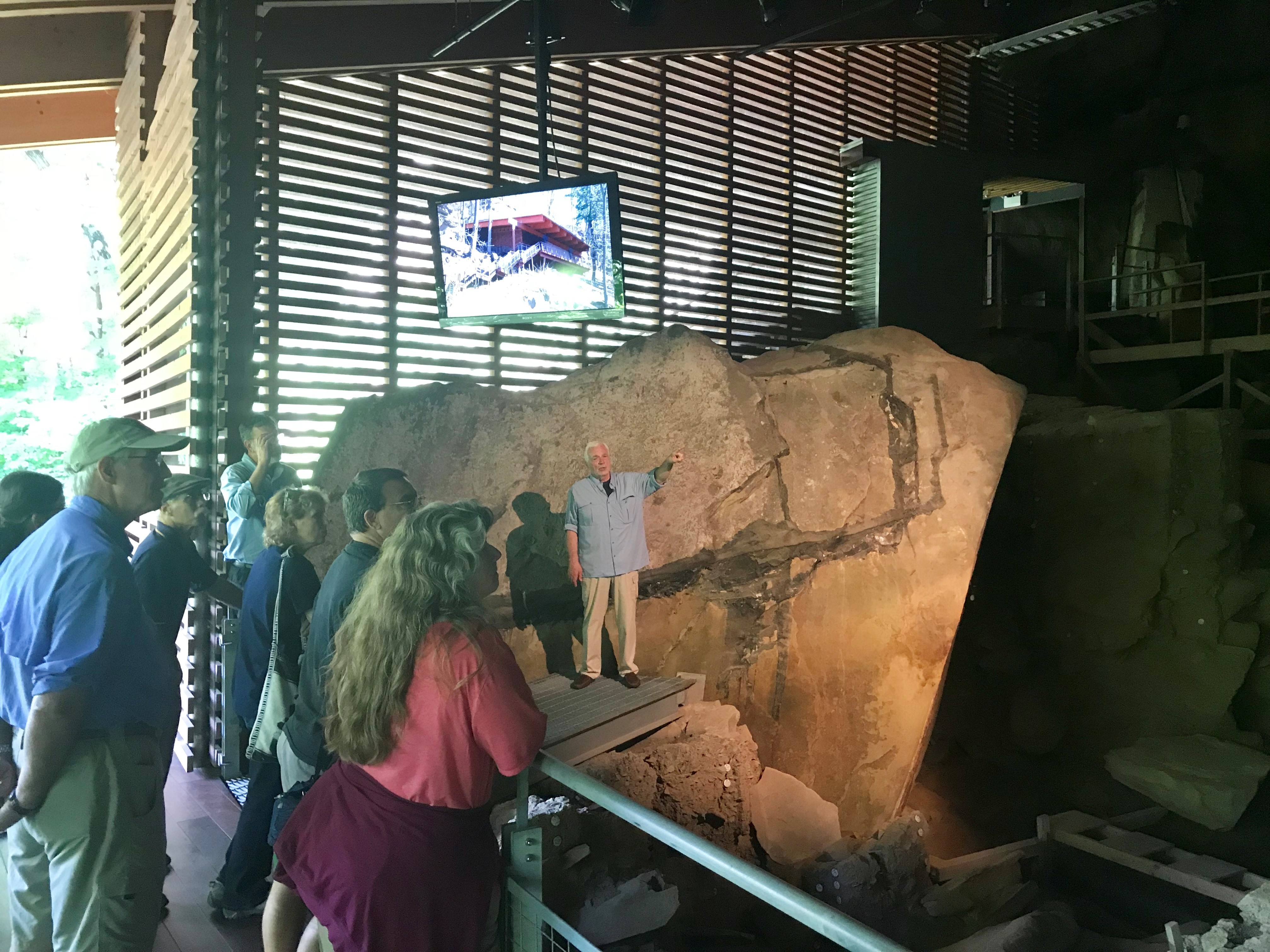 Dr. James Adovasio on an Insider Tour of Meadowcroft Rockshelter