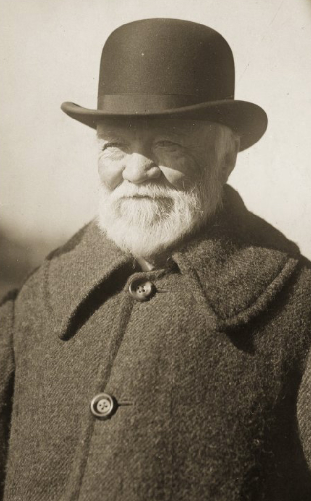 Andrew Carnegie funded the Simplified Spelling Board from 1906 to 1915. Courtesy of the Carnegie Museum of Art.