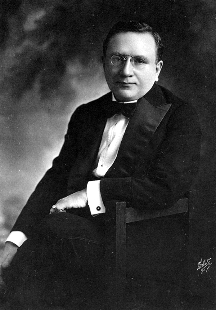 Lewis J. Selznick, around 1915-1917. Courtesy of the Fort Lee (New Jersey) Film Commission.