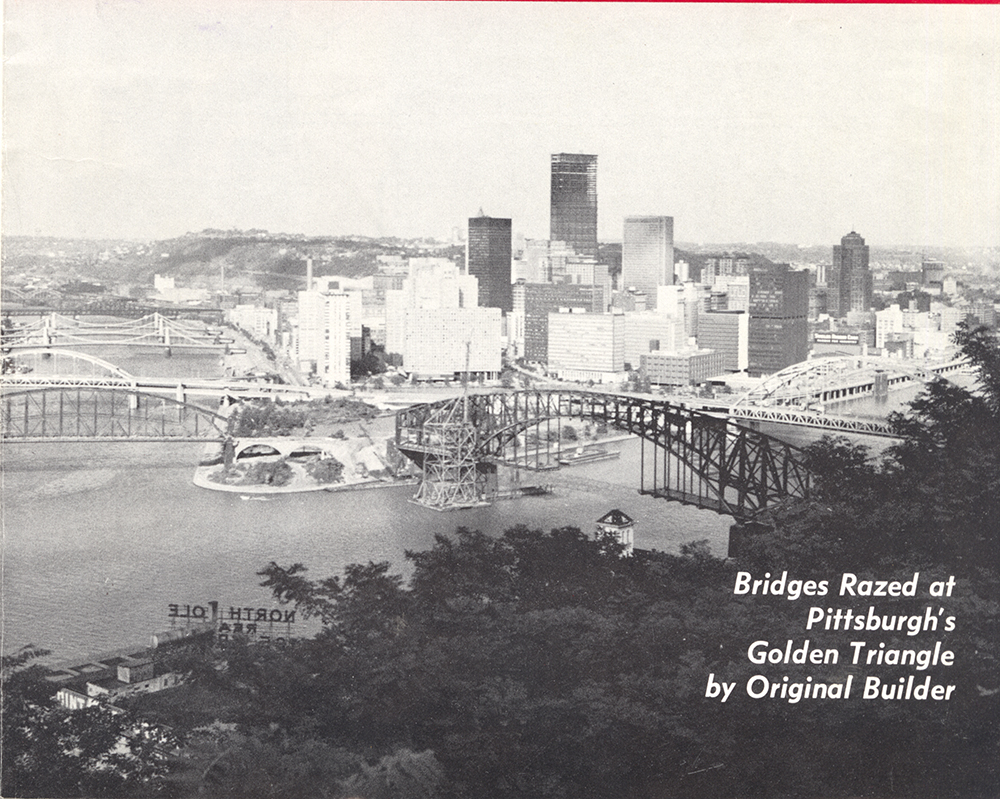 "Image of Pittsburgh from ""Constructioneer"" magazine July 13, 1970. Allegheny Conference on Community Development MSS 285, Detre Library & Archives at the History Center."