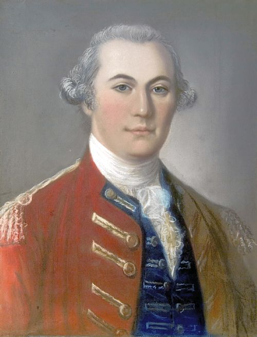 Anonymous Portrait of John Forbes, c. 1751. Courtesy of the Royal Scots Dragoon Guards Museum.