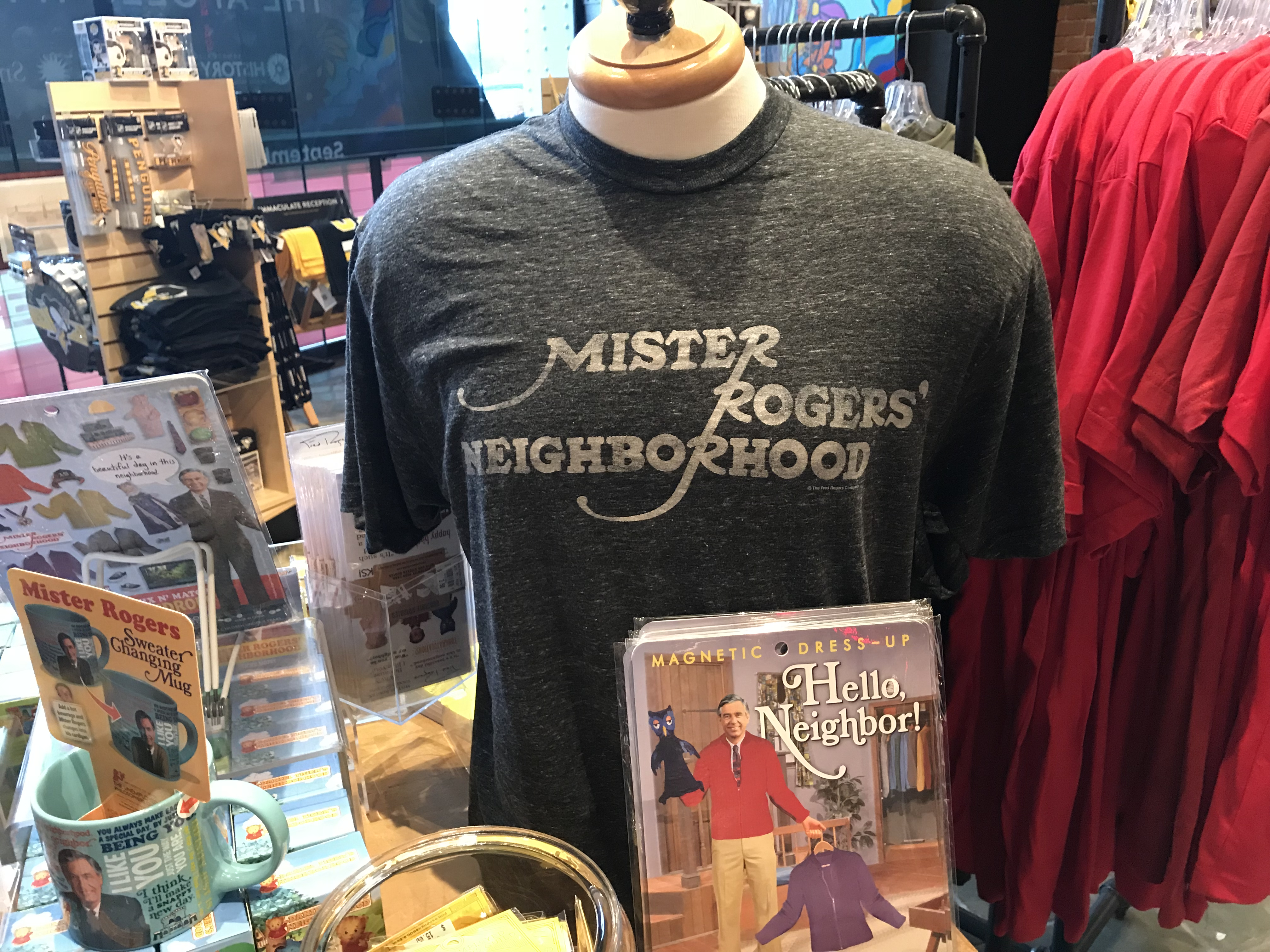 Mister Rogers' Neighborhood Vintage T-Shirt | History Center Museum Shop