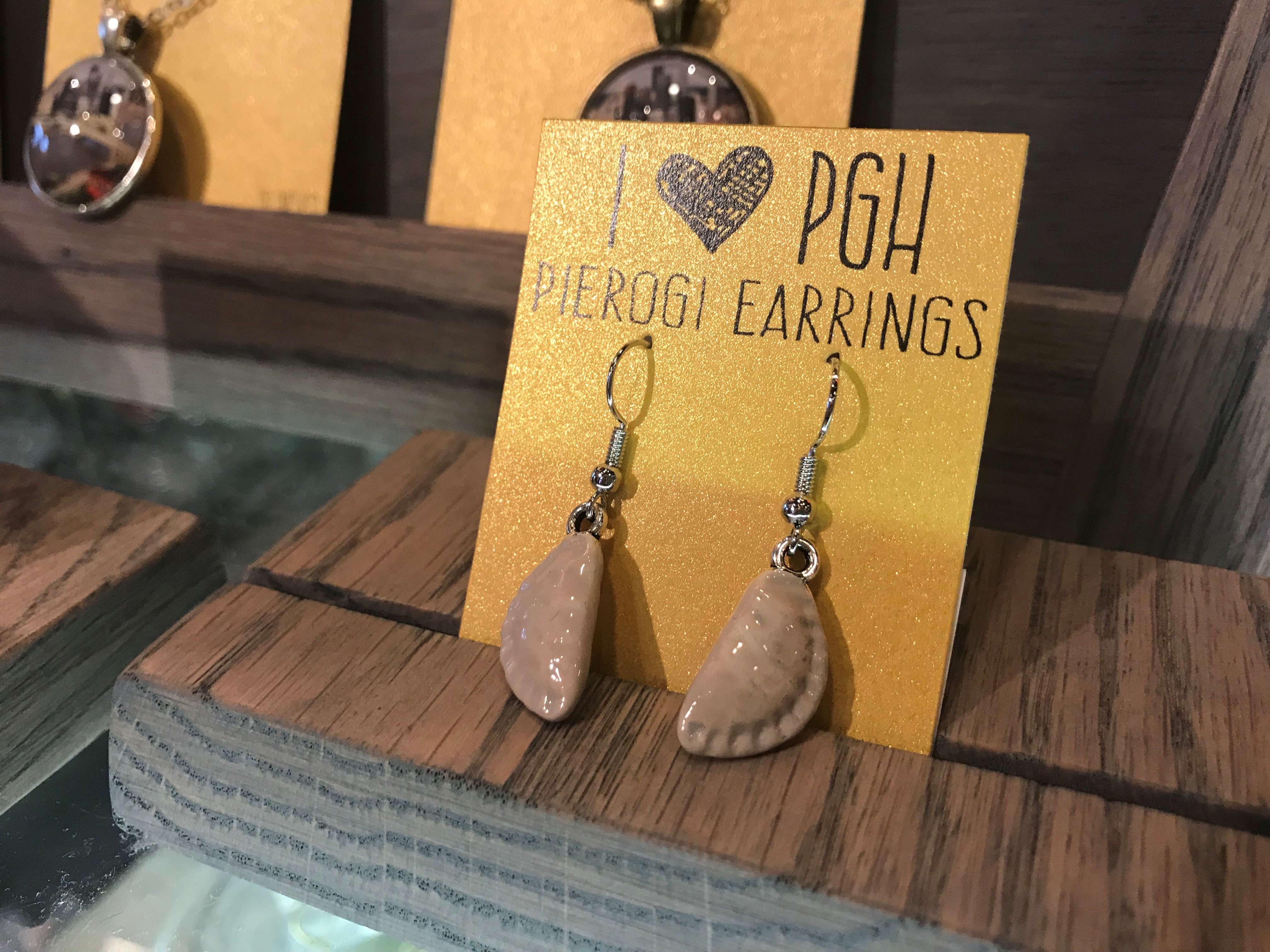 Pierogi Earrings | History Center Museum Shop