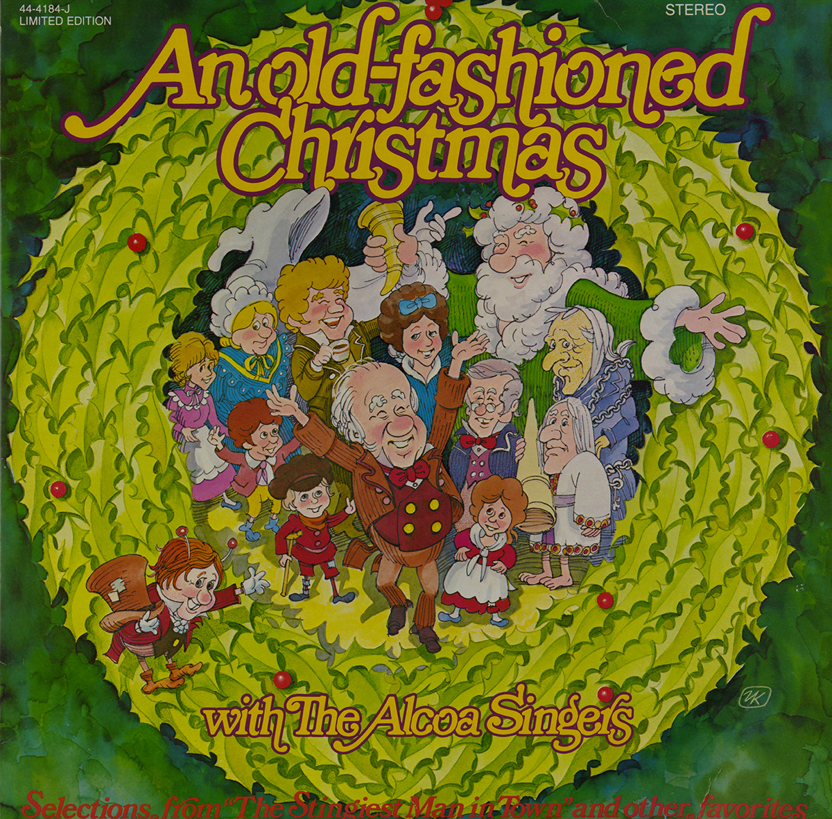 An Old-Fashioned Christmas with the Alcoa Singers, stereo LP jacket, 1979.