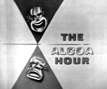 Title card for The Alcoa Hour, c. 1950s.