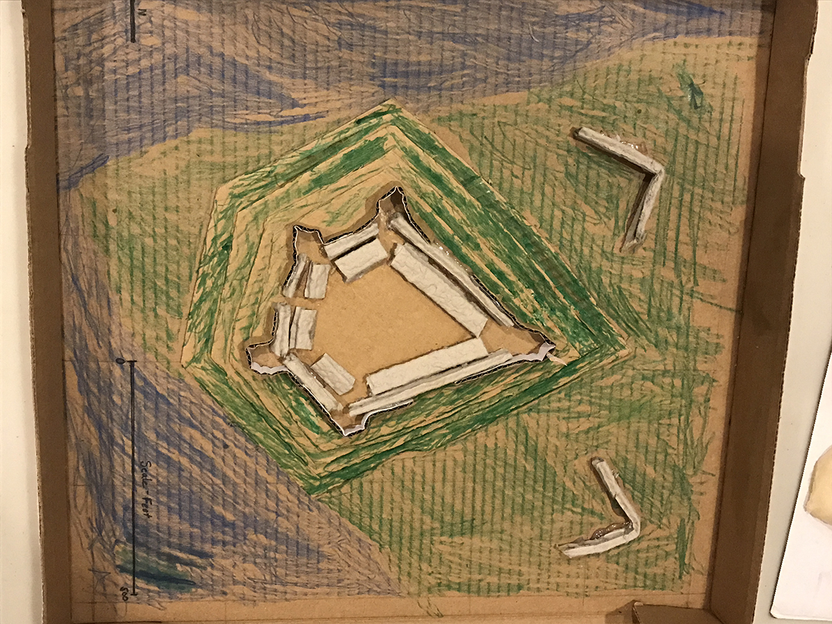 Students designed their own fort at the Point. | Fort Pitt Museum
