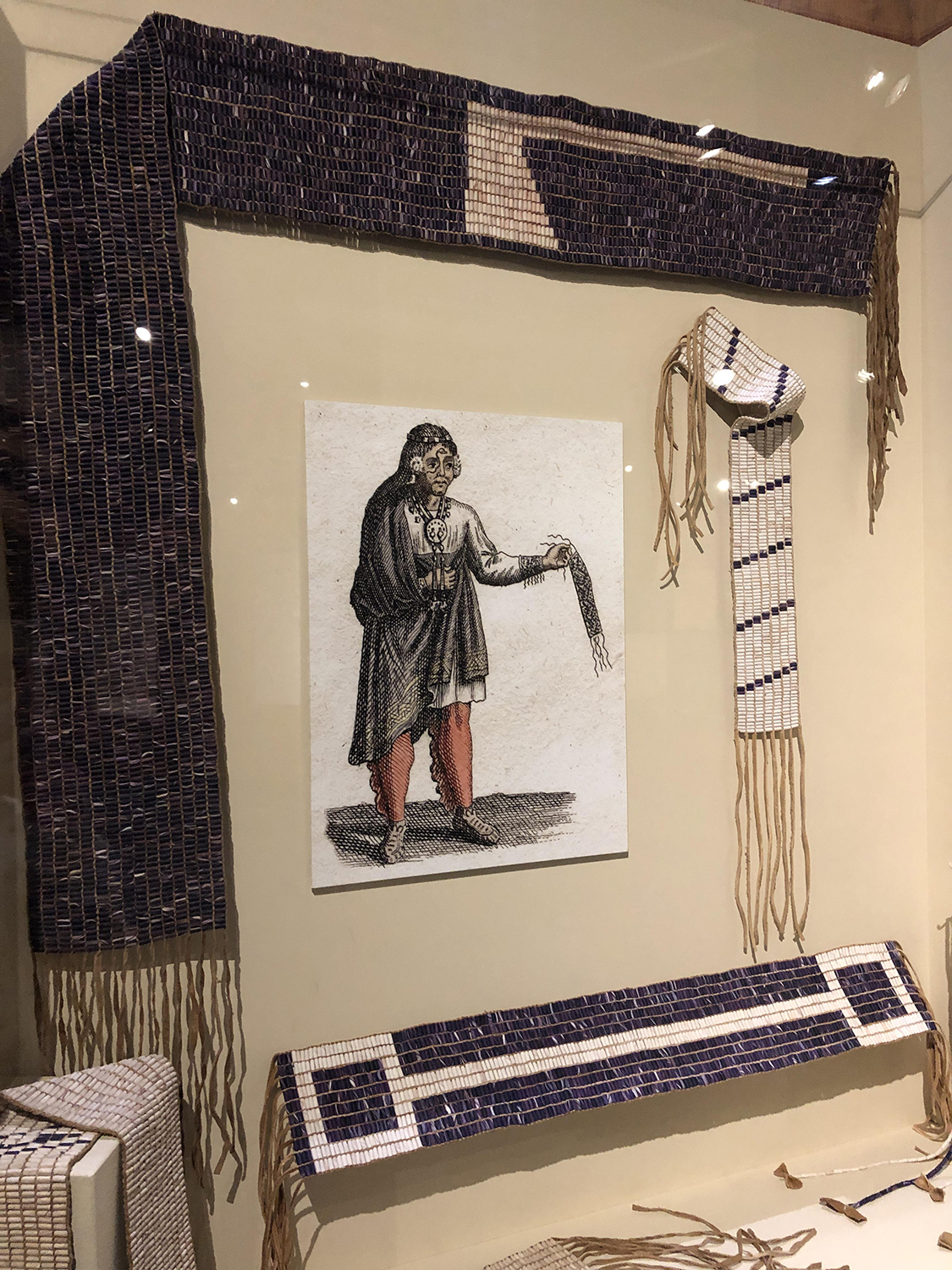 Discover how wampum belts documented important events, stories, wars, and agreements between American Indian nations and their friends and adversaries.