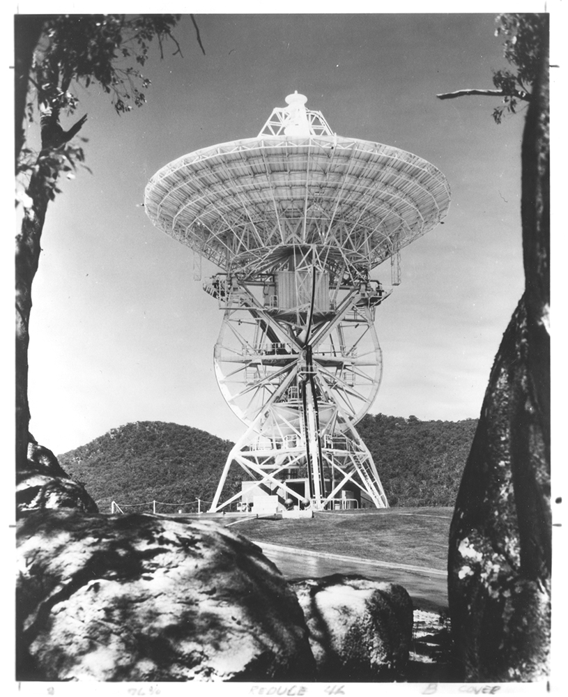 85-foot Antenna Station built by Blaw-Knox Company, c. 1965.