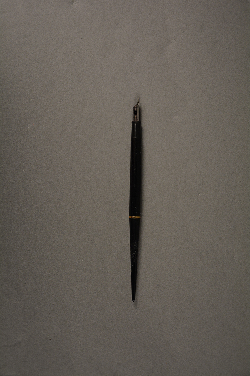 Pen used to sign the Treaty for Peaceful Uses of Outer Space, White House East Room, October 10, 1967.