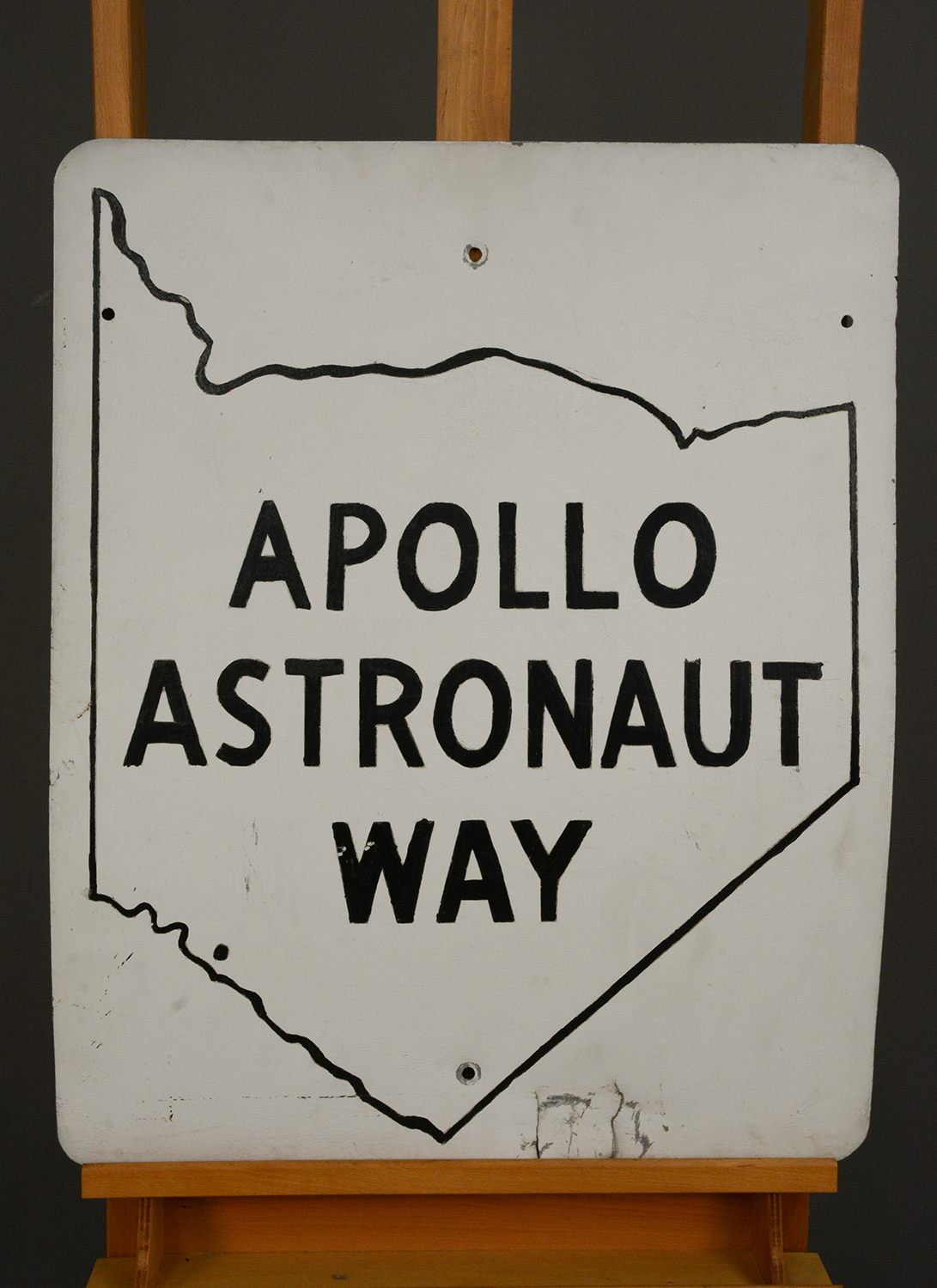 Apollo Astronaut Way road sign, 1970.