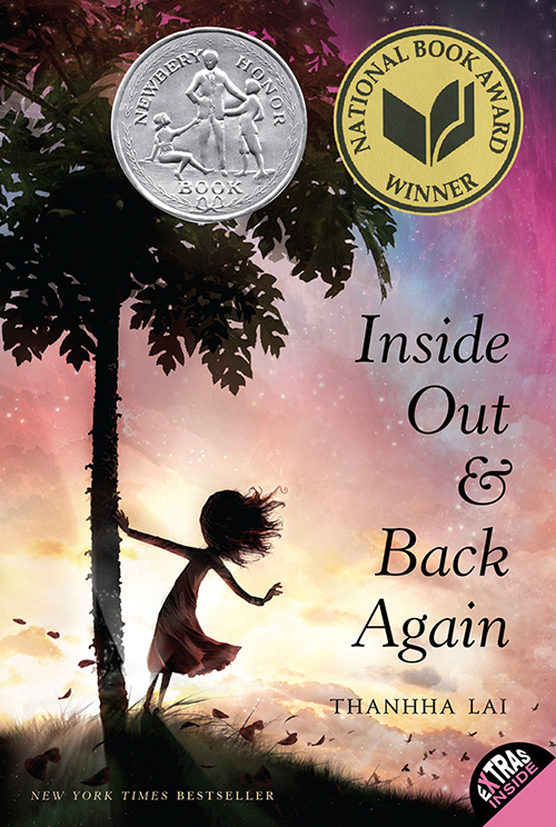 """Inside Out & Back Again"" by Thanhha Lai"