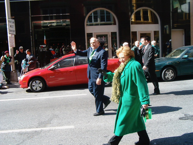 St. Patrick's Day parade, Pittsburgh, c. 2005.