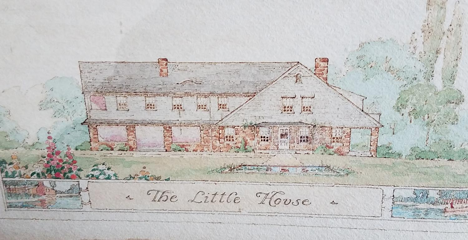 "Illustration of ""The Little House"""