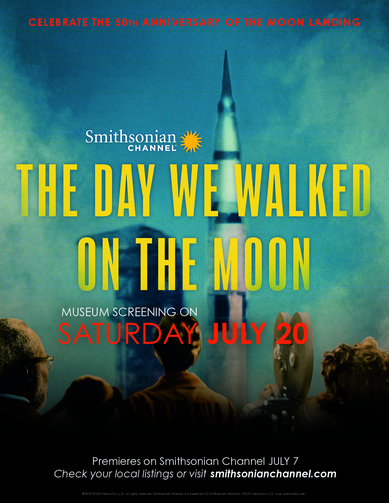 Smithsonian Channel: The Day We Walked on the Moon