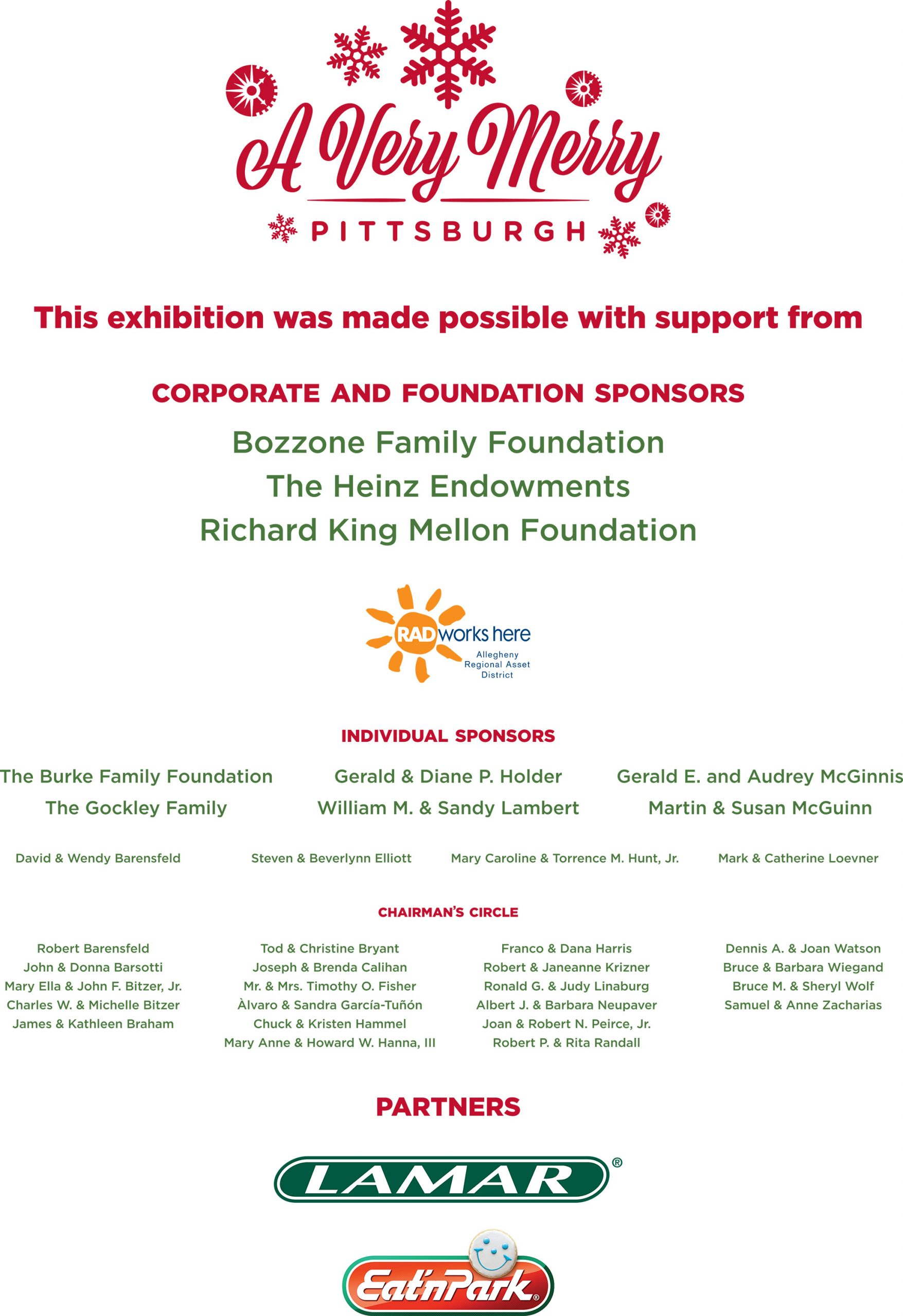 Sponsors: A Very Merry Pittsburgh