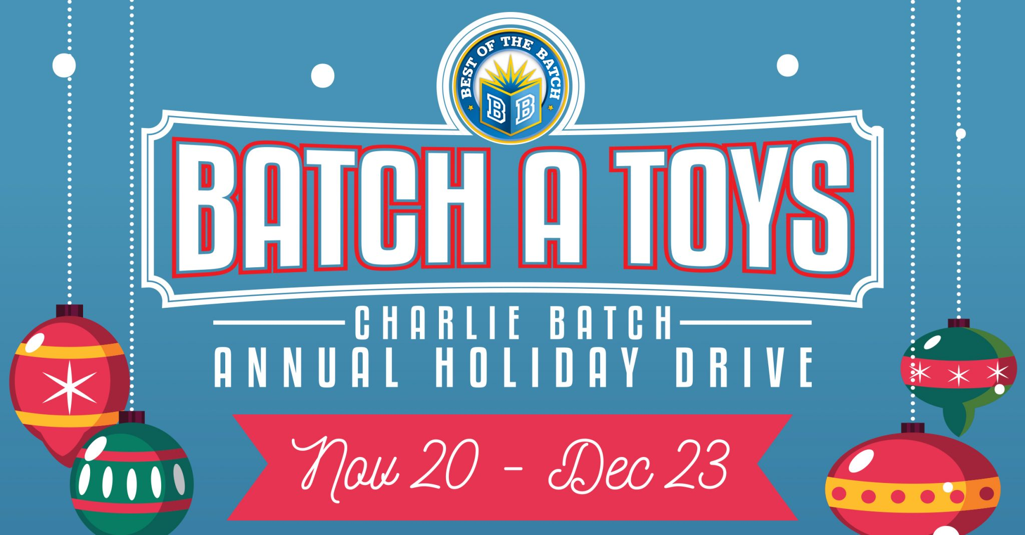 Batch-A-Toys: Charlie Batch Annual Holiday Drive