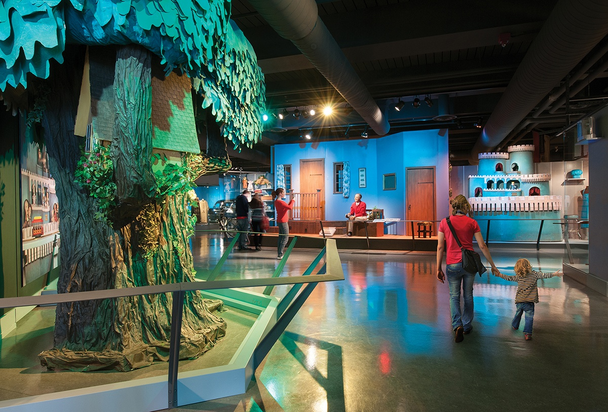 "The Heinz History Center is home to the largest collection of original items from ""Mister Rogers' Neighborhood"" on public view."
